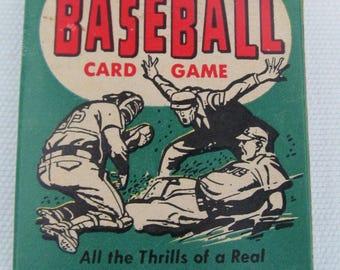 Baseball Card Game 1957