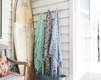 100% Cotton Peshtemal Turkish Towel, Hammam Towel Pestemal 39 Inches x 70 Inches Great gift