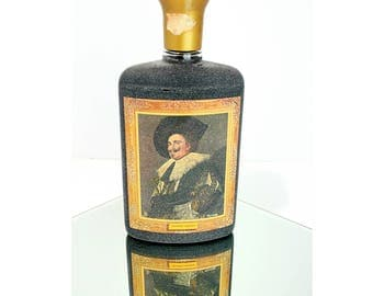 Jim Beam Decanter - Laughing Cavalier by Frans Hals- Man Cave Mid Century Bar Decor