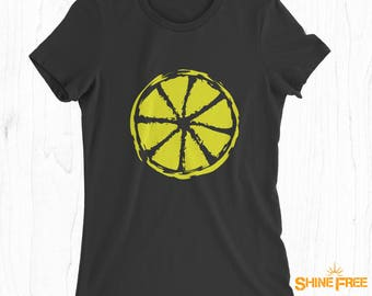 Citrus Lemon Shirt - Quality T-shirt - Lemonade T-shirt - Summer Wear - Summertime Tee - Citrus Fruit - Lime T-shirt - Orange T-shirt