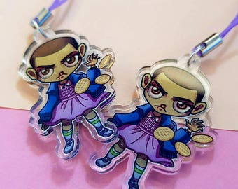 1.5 inch two sided acrylic charm