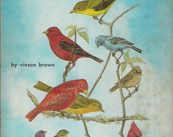 Backyard Wild Birds of the East and Midwest by Vinson Brown (Paperback) 1971