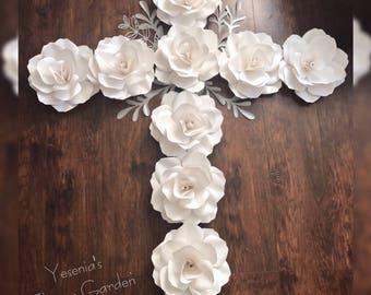 White Roses Cross