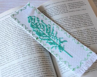 Bookmark | Cross Stitch Bookmark | Embroidery Bookmark | Page Holder |Finished Cross Stitch