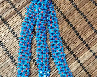 Vintage Kuchi Beaded Tassels for Gypsy Belly Dance, Tribal Fusion, or ATS Costume Hair-Belt Decoration