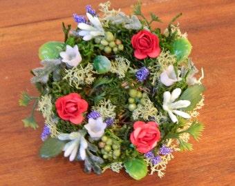 Bird Nest Decoration, Spring Floral Arrangement, Spring Flower Arrangement, Farmhouse Bird Nest, Shower, Wedding, Escort. Place Card, Holder