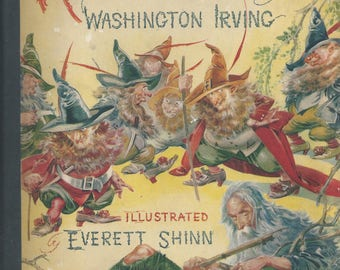 Rip Van Winkle by Washington Irving, illustrations by Everett Shinn