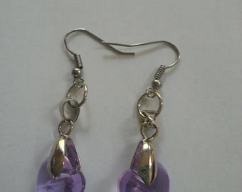 Purple Crystal Jewelry