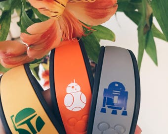 Disney's Star Wars Magic Band and Magic Band 2.0 Sticker Decals