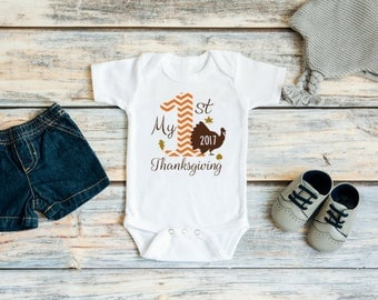 Baby boy Thanksgiving outfits - Baby first Thanksgiving outfit - Thanksgiving outfit - My first Thanksgiving boy - My 1st Thanksgiving