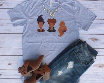 Sanderson Sisters Shirt // Hocus Pocus Shirt // Halloween Shirt