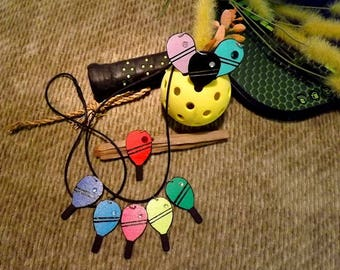 Pickleball Paddle Charm