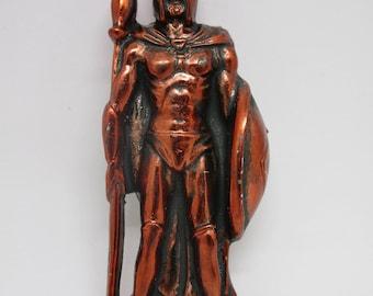 This Is Sparta LEONIDAS Greek Spartan King Warrior Statue Figure Bronze 3D Fridge Magnet