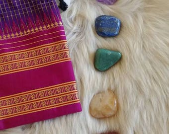 Activation Chakra Set with Red Andara