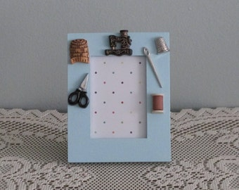 Let's Sew Picture Frame