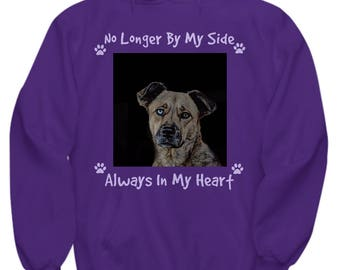 Always in my heart, Personalized Photo Hoodie, Pet Memorial, Pet Memorial Gifts, Pet Loss Gifts, Pet Loss Gifts Cats, Pet Loss Gifts Dogs