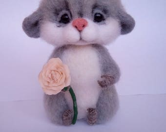 Mouse Needle Felted Animals