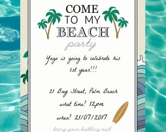 Come to my Beach Party