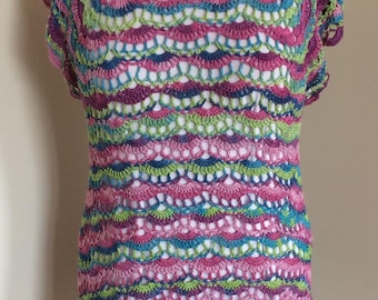 Summer tunic with points