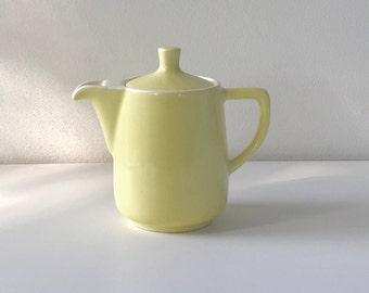 Vintage Melitta Coffee Pot, Yellow, Mid Century Coffee Pot, Vintage, Teapot, Melitta, Coffee, Pour Over Coffee, Mid Century Kitchen