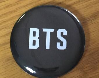 BTS-Custom Pinback Button-KPOP-2.25 Inch Bulletproof Boy Scouts