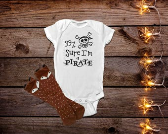 Pirate Onesies®, Funny Baby Onesies®, Funny Onesies®, Baby Boy Clothes, Funny Baby Gift, Cute Baby Boy Clothes, Trendy Baby Clothes