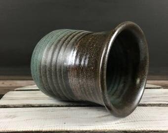 studio pottery vintage ceramic vase