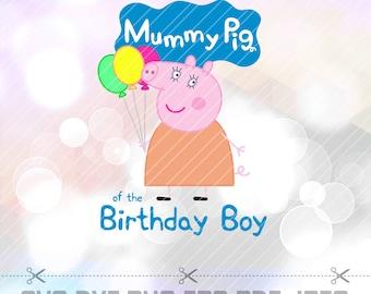 Mummy Pig Etsy