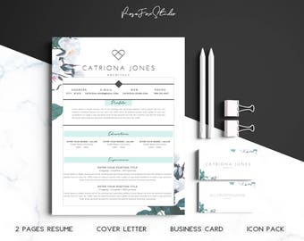 Resume Template /Business Card.
