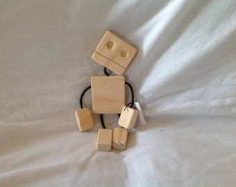 Wooden Toy Robot