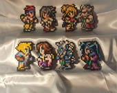Final Fantasy 10 Sprites - Perler Bead Art
