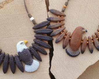 Necklace Eagle Totem