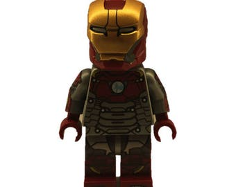 LEGO minifigures Custom Ironman Homecoming Made with Original LEGO Parts