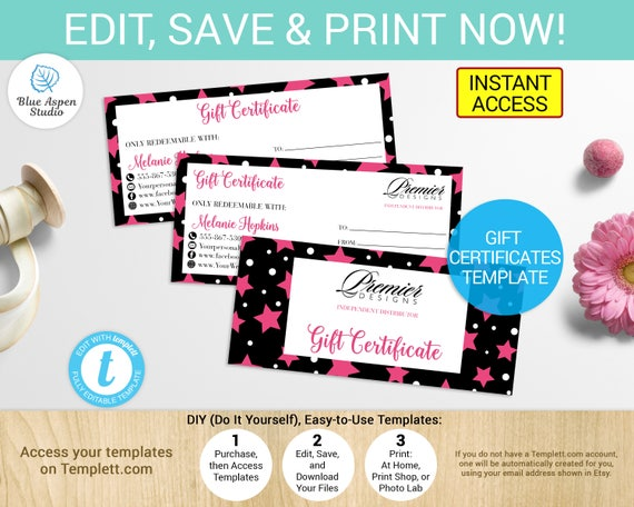 Premier designs gift certificate premier designs coupon premier designs gift certificate premier designs coupon premier designs voucher printable premier designs jewelry distributor template yadclub Images