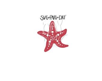 Starfish SVG, Summer SVG, Starfish Cut File