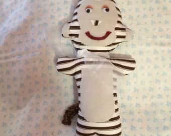 Stuffed-animal  Monkey  Toys  Boys Girls  Gifts  Children  Crafts  Handmade