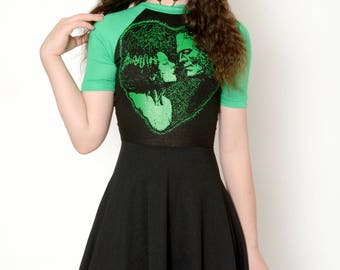 Bride of Frankenstein Baby Doll Dress