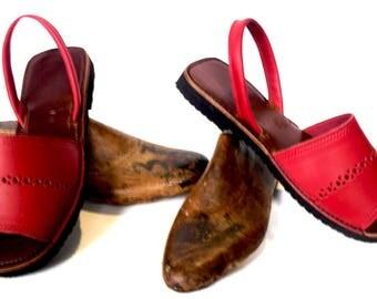 sandal //leather sandal //handmade sandal // beef skin sandal