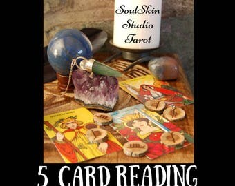 5 Card  General Tarot Reading