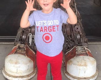 Lets go to Target//shopping//kids tee