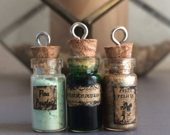 Harry Potter Inspired Potion Bottle Charms
