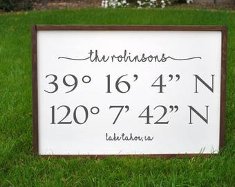 New Home Gift Housewarming Gift House Warming Gift First Home Gift Wood Sign Gift Personalized Gift for Home Moving Gift Housewarming Sign