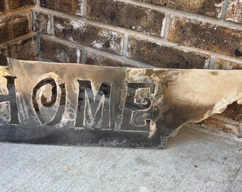 Tennessee Metal Home Sign