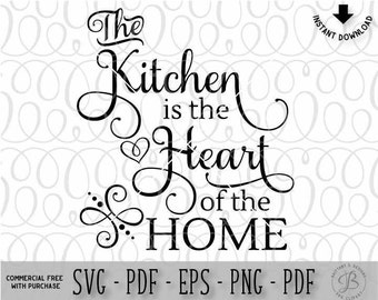 Kitchen SVG, Cooking svg, home svg, kitchen wall svg, svg files, svg, svg files for cricut, kitchen cutting files
