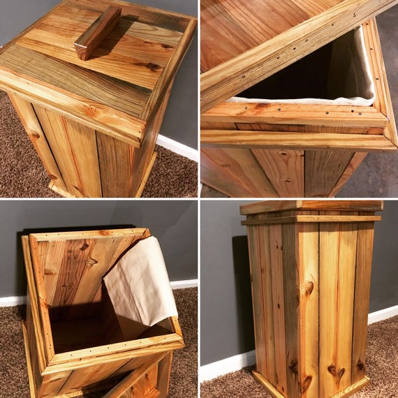 wood storage bin toy storage laundry hamper laundry room. Black Bedroom Furniture Sets. Home Design Ideas
