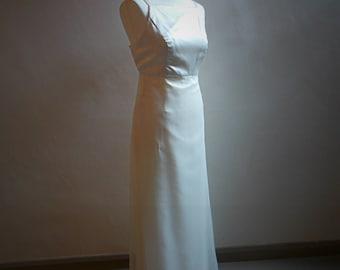 1990s vintage Vera Wang wedding dress size UK8
