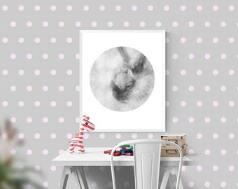 Bunny prints wall decor Woodland rabbit printable art DIY Home decor Forrest animals Kids room poster Downloadable photography New baby gift