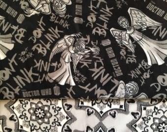 Weeping Angel Fleece Blanket/ don't blink/ doctor who/ doctor who fleece blanket/ weeping angels