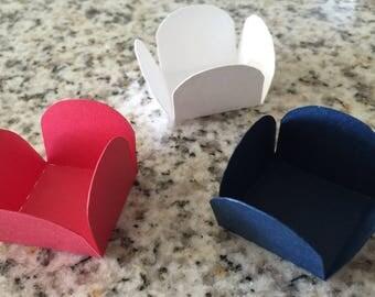 Brigadeiro Holders, Truffle Holders, Mini Cupcake Holders, Candy Cups, Mini Candy Cups, Mini favor boxes, Forminhas
