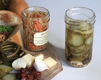 Bread and Butter Dill Pickles